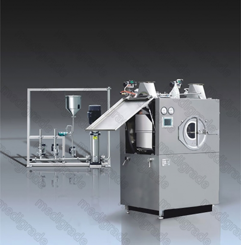 BGB-D Series High-Efficiency Coating Machine (With CIP Cleaning System