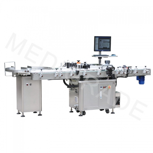 S-400 type round bottle labeling machine (CCD vision recognition system)