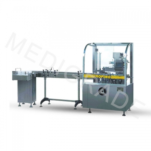 Round bottle labeling  carton linkage line(RL)