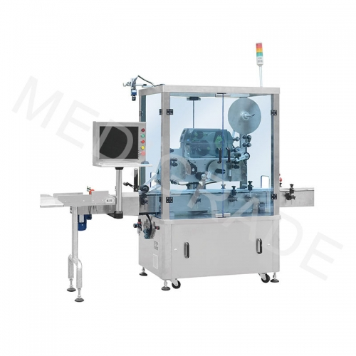 Plastic row ampoule labeling machine(F-100)