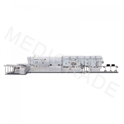 High speed powder filling production line