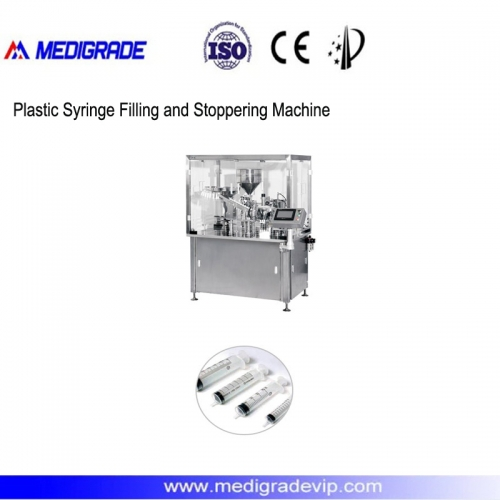 MDL-30-1N Plastic Syringe Filling and Stoppering Machine