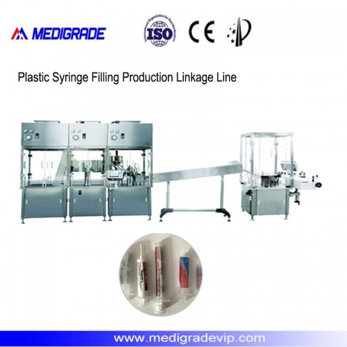 MDL-30-1NC Plastic Syringe Filling Production Linkage Line