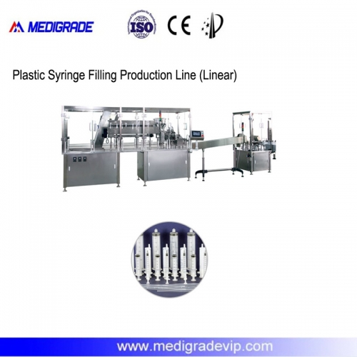 MDL-30-1NB Plastic Syringe Filling Production Line (Linear)